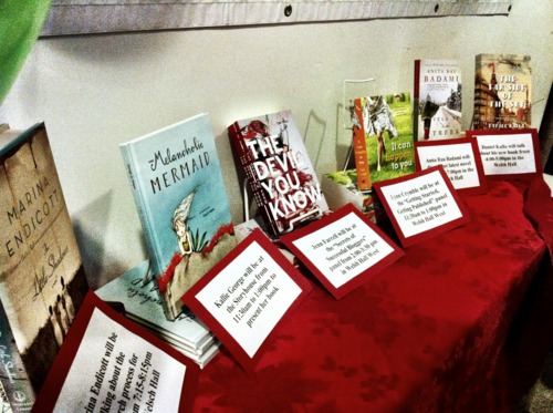 Books from the North Shore Writer's Festival
