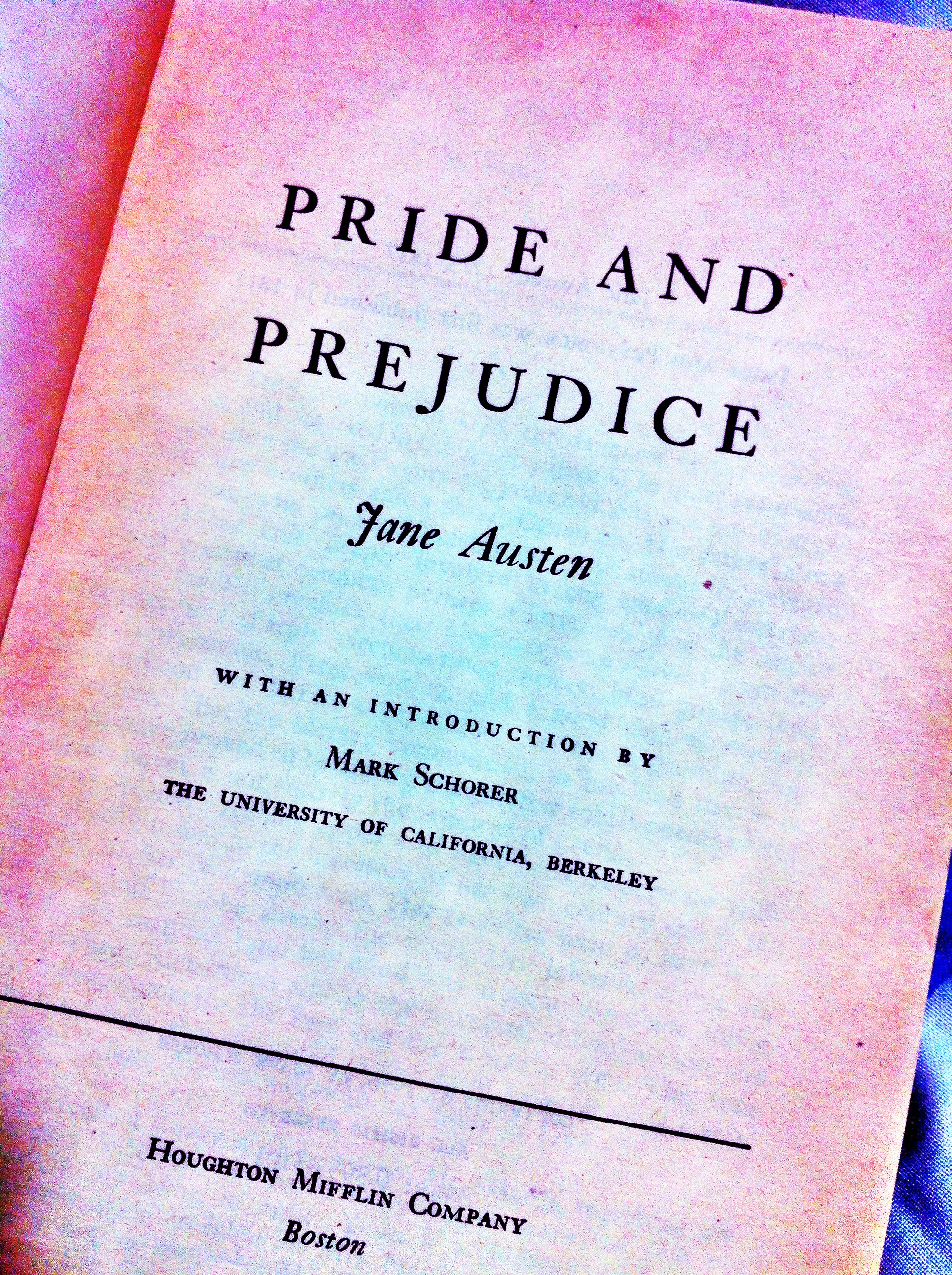 pride and prejudice book analysis