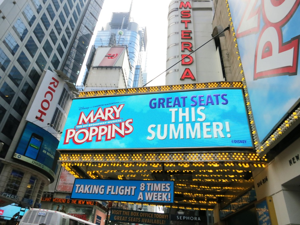 Mary Poppins Musical NYC