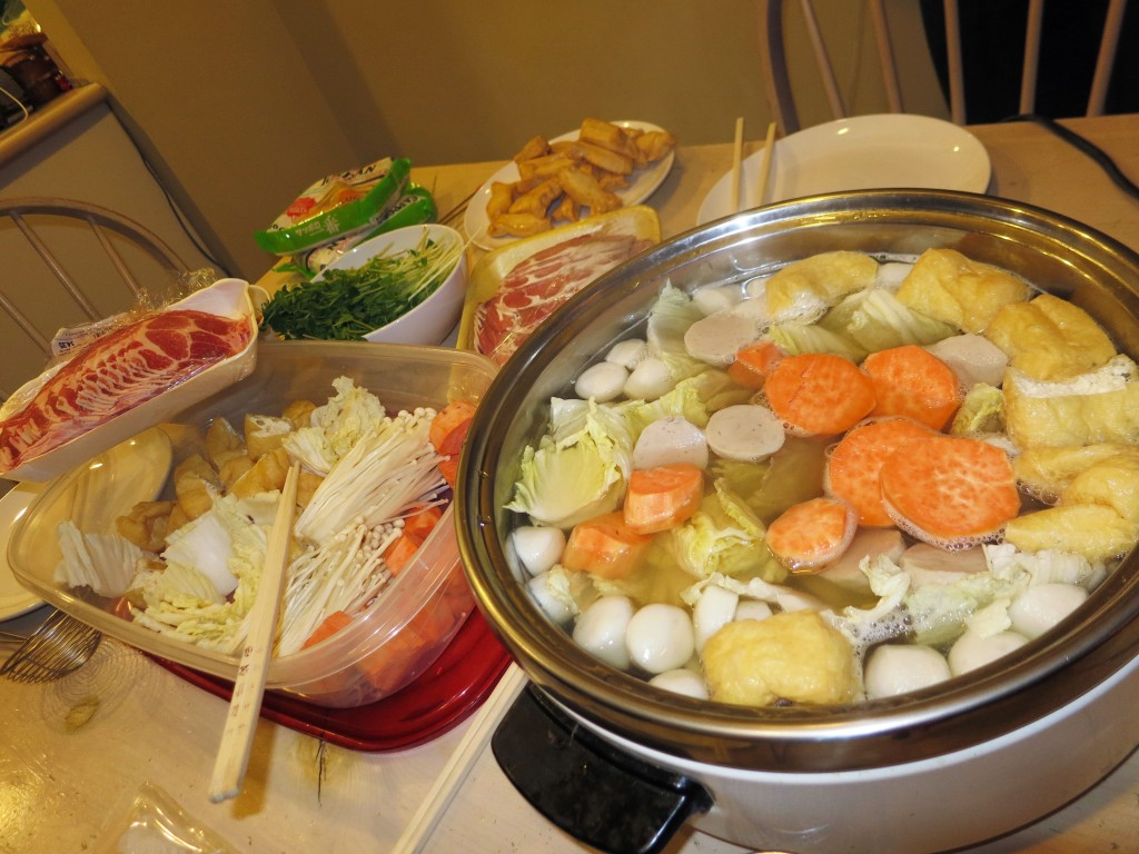Late night hot pot