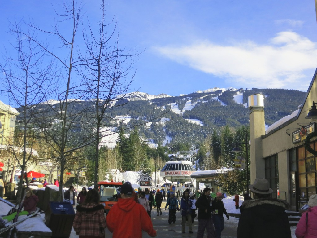 Gondola to Blackcomb mountain