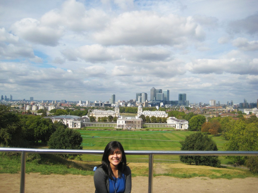 View from Greenwich Royal Observatory