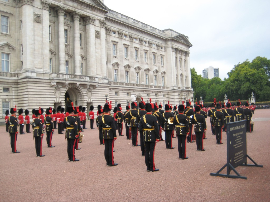 Changing of the Guards at Buckingham Palace 2