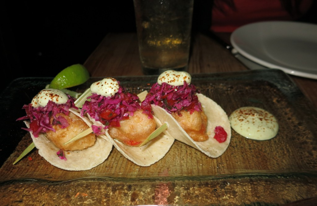 Lobster tacos from Beauty and Essex