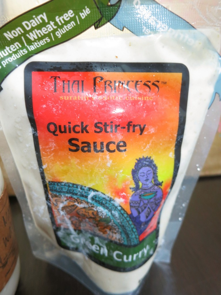 Green curry quick stir-fry sauce from Thai Princess