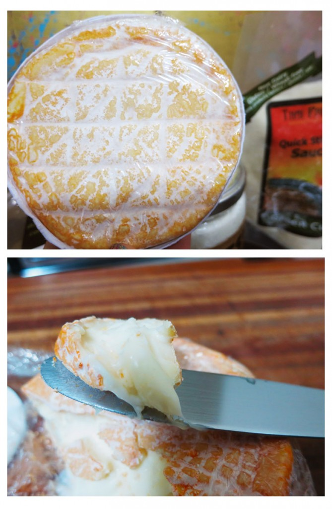 Romelia goat cheese froSalt Spring Island Cheese