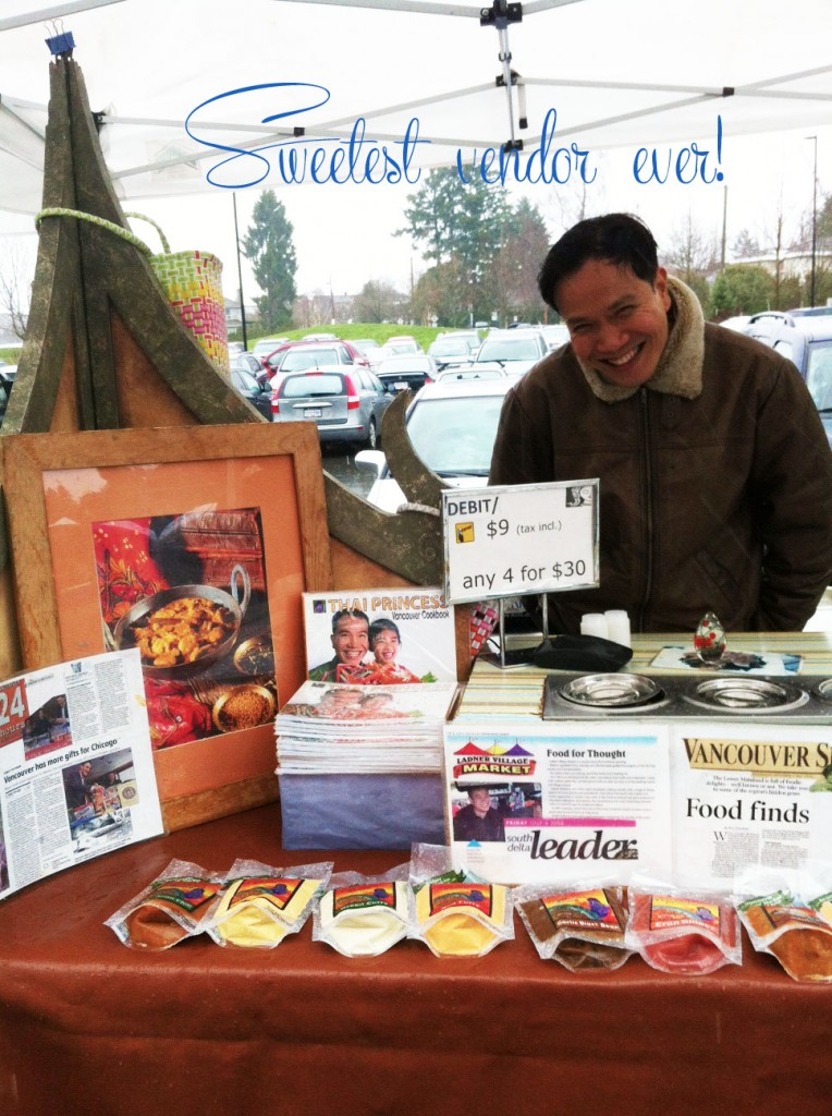 Thai Curry Vendor at the Vancouver Farmers Market