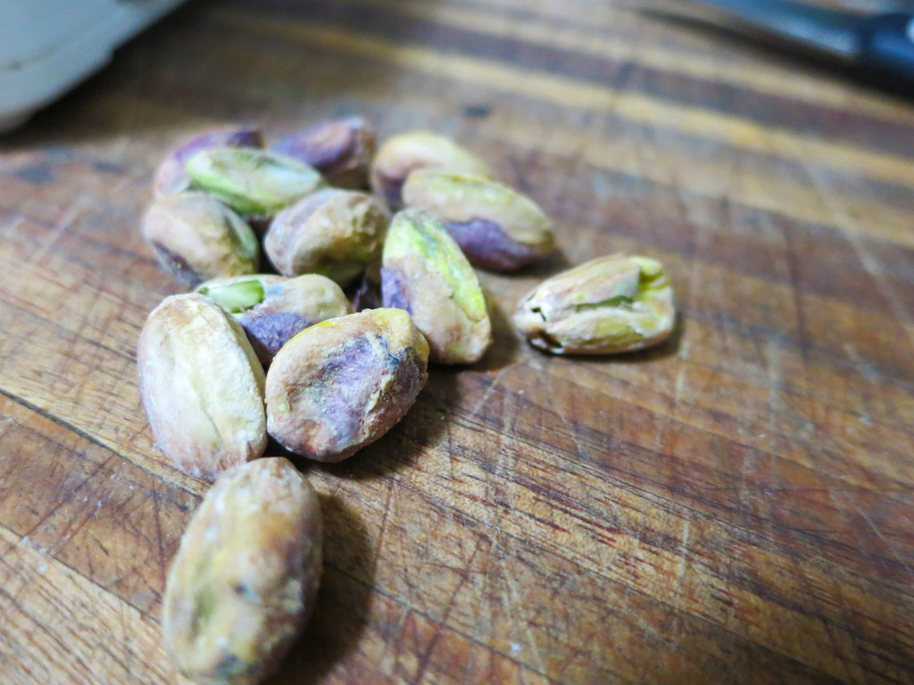 Pistachios, shelled and unsalted